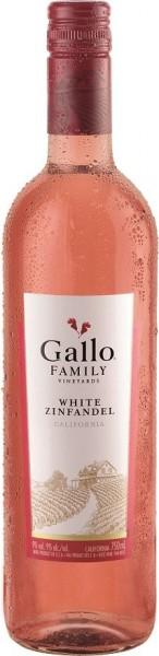 Gallo White Zinfandel, Rosé, lieblich, 2017, 0.75 l