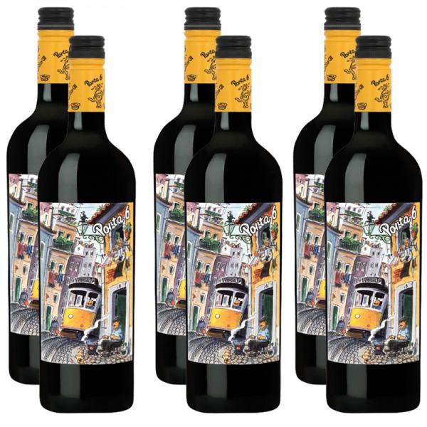 6 Flaschen Porta 6 Vinho Tinto Lisboa, 2016