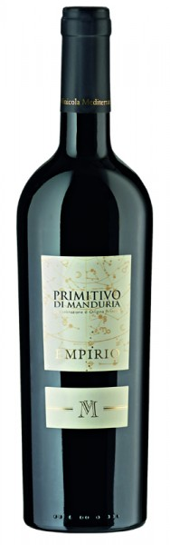 Empirio Rotwein Primitivo di Manduria, halbtrocken, 2018, 0,75 l
