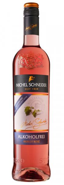 Michel Schneider Merlot Rosé, alkoholfreier Wein, 0,75 l