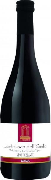 Lambrusco dell' Emilia Rosso IGT, Vino Frizzante, lieblich, 0.75 l