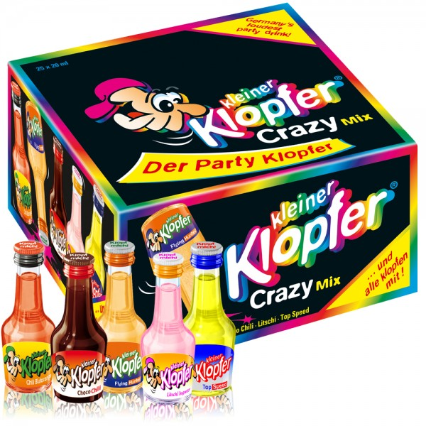 Kleiner Klopfer Crazy-Mix, 25 x 20 ml