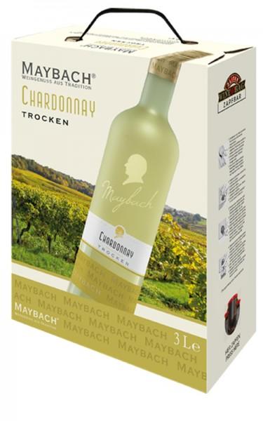 Peter Mertes Maybach Chardonnay Mosel, trocken, 3 l Bag-in-Box
