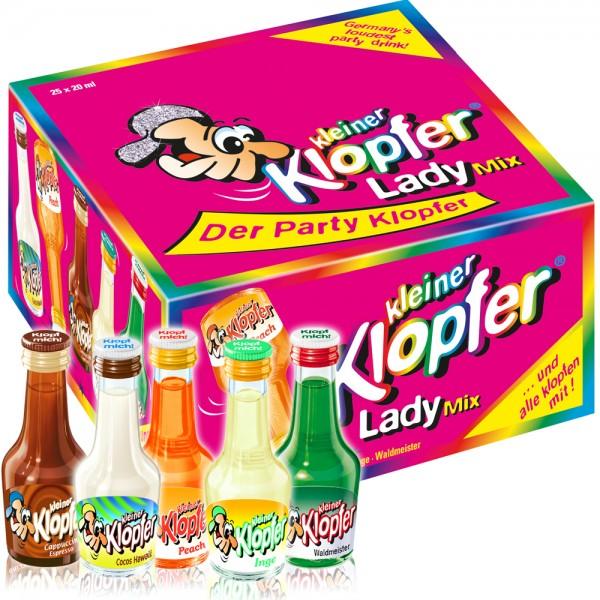 Kleiner Klopfer Crazy Lady Mix, 25 x 20 ml