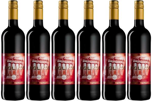 6 Flaschen Imiglikos rot - lieblich, á 0,75 l