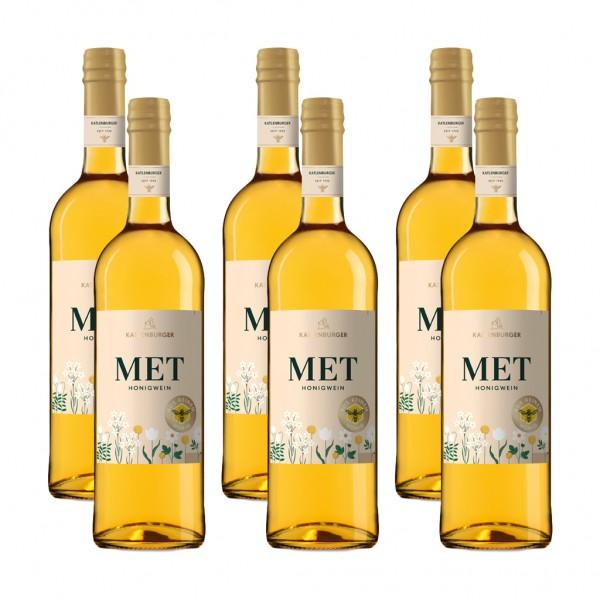 6 Flaschen Katlenburger Honigwein Met, lieblich, 0,75 l
