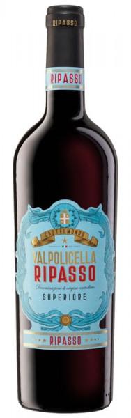 Castelmondo Valpolicella DOC Ripasso Superiore Rotwein, 2018, 0,75 l