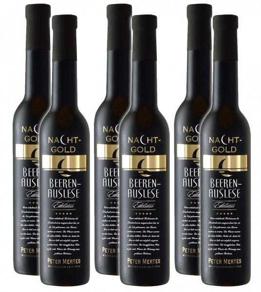 6 Flaschen Nachtgold Beerenauslese, edelsüss, á 0,375 l