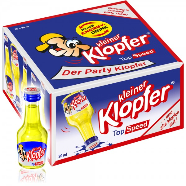 Kleiner Klopfer Top Speed, 25 x 20 ml