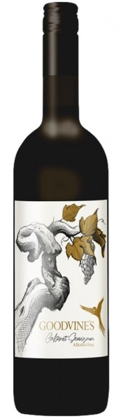 Premium Goodvines Cabernet Sauvignon - alkoholfreier Rotwein, 0,75 l