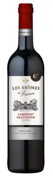 Les Aromes de France Cabernet Sauvignon Pays D'OC, trocken, 2020, 0,75 L